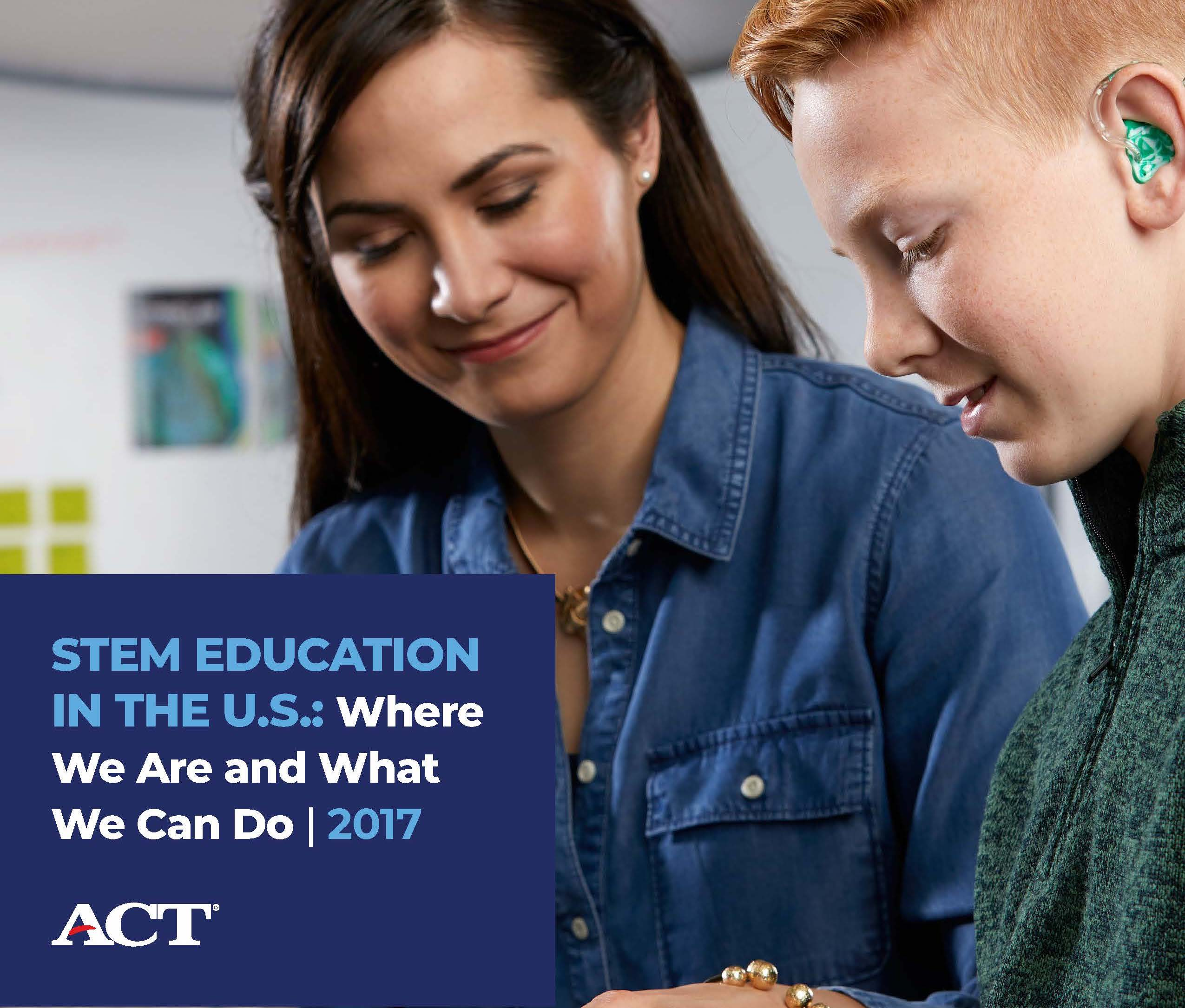 ACT annual STEM report