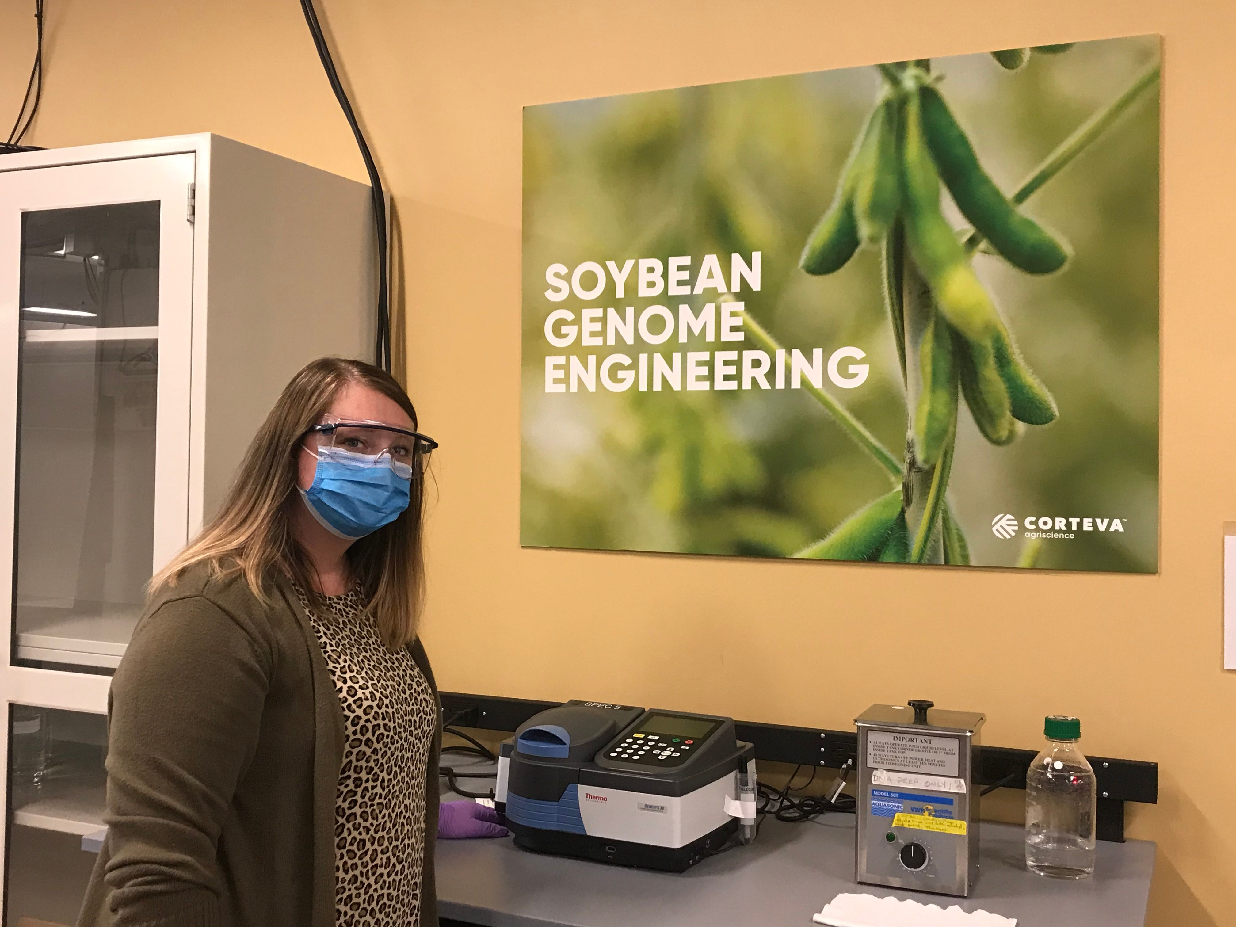 Corteva hosted Norwalk High School Teacher Sarah Hunt for a STEM Teacher Externship last summer.