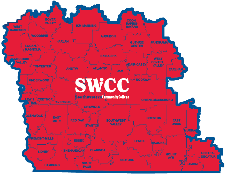 Iowa STEM Map - Southwest Iowa STEM Region