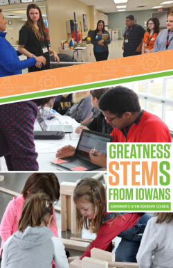 Iowa STEM Brochure