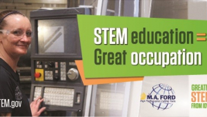 M.A. Ford STEM Career Awareness billboard