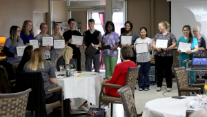 Iowa BIG North Students Receive CNA Certificates