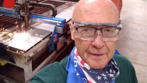 Industrial Technology Teacher John Doornenbal is a 2020 STEM Teacher Extern at Interstates in Sioux Center.