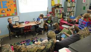 Howard-Winneshiek Community School District students particpate in ST Math, Scale-Up program