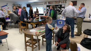 John Glenn Elementary Makerspace made possible through STEM Council Scale-Up Program