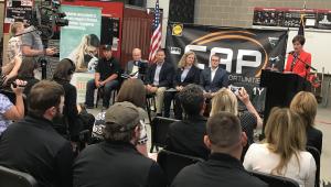 High School Registered Apprenticeship Playbook Press Conference