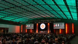 The 2021 Future Ready Iowa Summit was held at the Iowa Events Center in Des Moines on September 16, 2021.