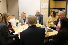 The STEM Advisory Council met in January 2020 to define priorities for the years to come.
