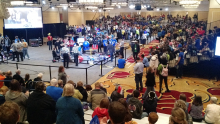 FIRST Tech Challenge teams compete at FIRST Championship in St. Louis.
