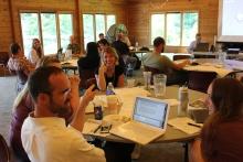 Iowa educators attend a Teacher Externship orientation
