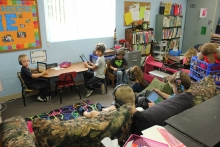 Howard-Winneshiek Community School District students particpate in ST Math, Scale-Up program