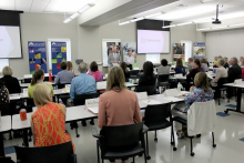 20th meeting of the Governor's STEM Advisory Council held at Accumold in Ankeny.