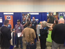 STEM BEST® Program model Ankeny Orbis spoke with school board members and administrators at the IASB Convention.