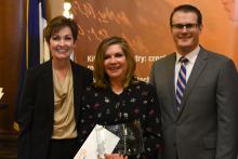 I.O.W.A. STEM Teacher Award Teresa Green