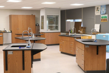 New chemistry lab at West Delaware High School
