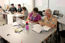 Educators take part in STEM Scale-Up PD