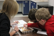 "Lewis Central Middle School students use STEM Scale-Up program, ""Engineering is Elementary"""