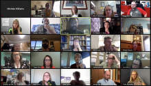Virtual webinar to check in with participants of the Fostering Equity in the STEM Classroom Workshop.